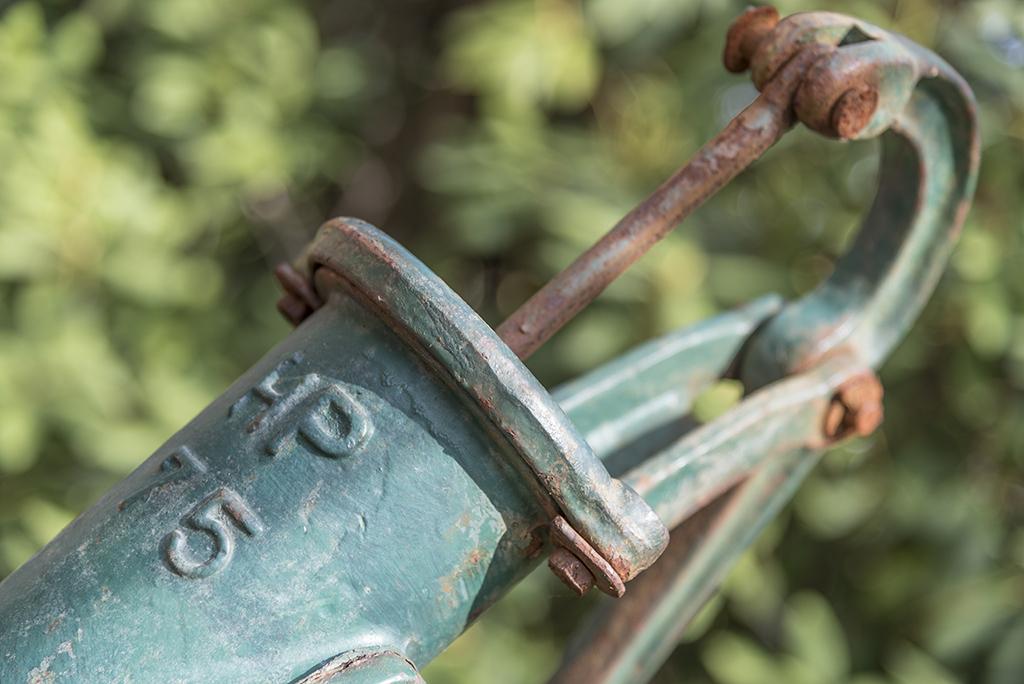 Pumpe im großen Garten