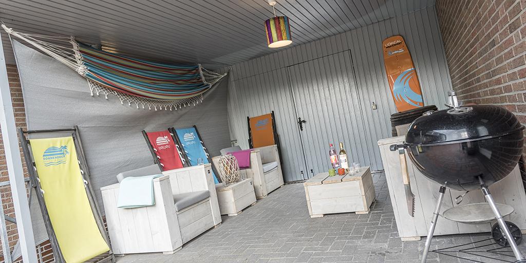 die Lounge für gemütliche Abende draußen
